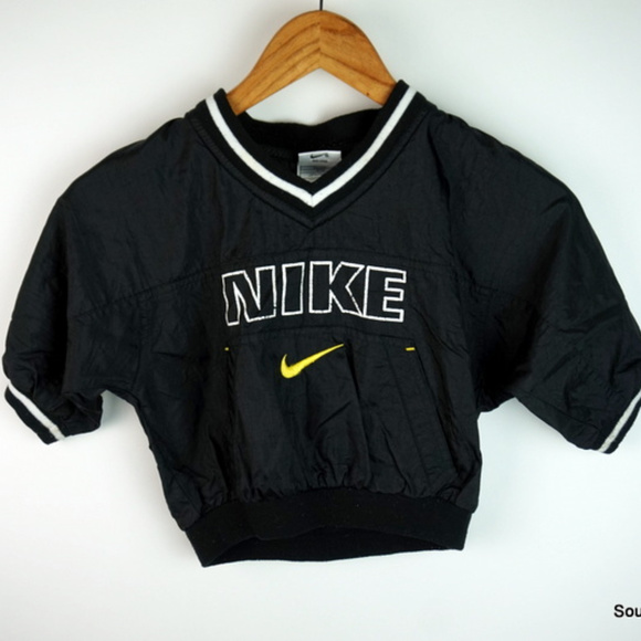 8ea9128deb78 Vintage 90s Nike Pullover Windbreaker Size 2T. M 5b27dc5a34a4ef0c86023543